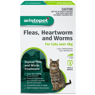 Aristopet Spot-On For Cats over 4kg