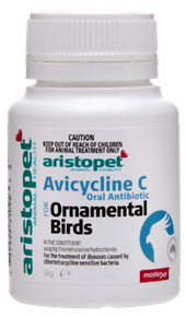 Avicycline C Oral Antibiotic for Ornamental Birds