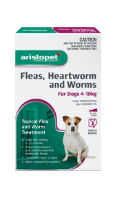 Aristopet Spot-On For Dogs 4-10kg