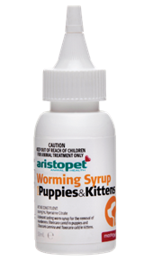 Worming Syrup for Puppies and Kittens