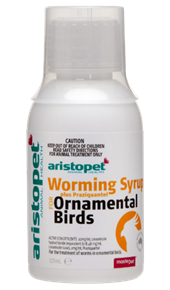 Worming Syrup Plus Praziquantel for Ornamental Birds