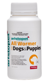 All Wormer for Dogs and Puppies